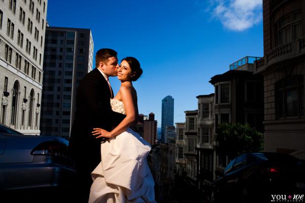 Vlad+Anna Fairmont Hotel Wedding Photos | San-Francisco, CA