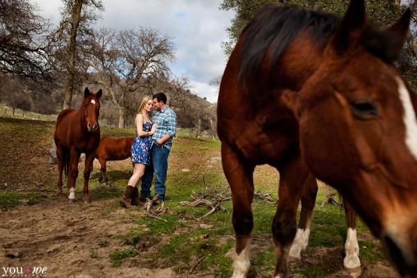 Jeff+Kara :: Engaged :: At the Ranch